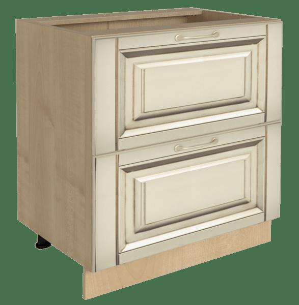 Долен кухненски шкаф H 60x87 с 2 чекмеджета